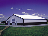 Industrial Steel Roofing and Siding